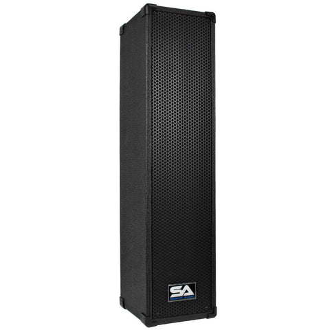 SA-45PC - 4x5 Inch Powered Column Speaker with 1 Inch Compression Driver