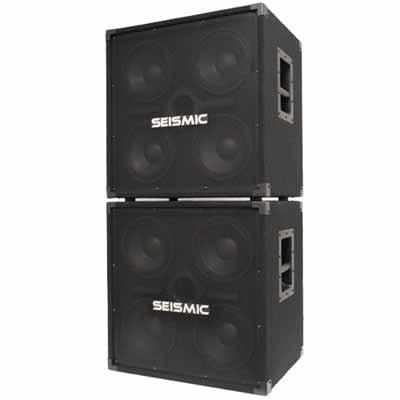Pair of 4x8 Bass Speaker Cabinets