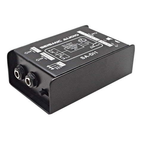 SA-DI1 - Passive Direct Box with Ground Lift and Attenuator Switch
