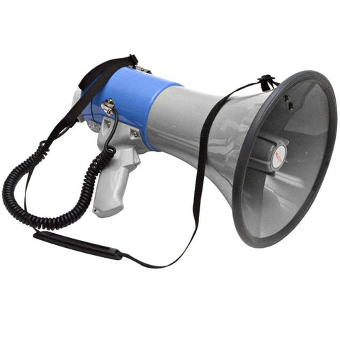 SA-MEGA1 Professional Large Bell Transistor Megaphone with Detachable Microphone