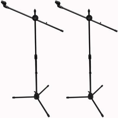 SA-Mic5 - (2 Pack) Dual Tripod Microphone Stands and 5 Clips