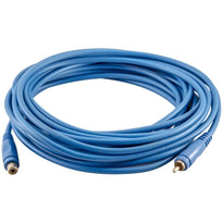 SA-PGSR25Blue - 25 Foot Blue RCA Male to RCA Female Audio Extension Cable