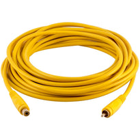 SA-PGSR25Yellow - 25 Foot Yellow RCA Male to RCA Female Audio Extension Cable