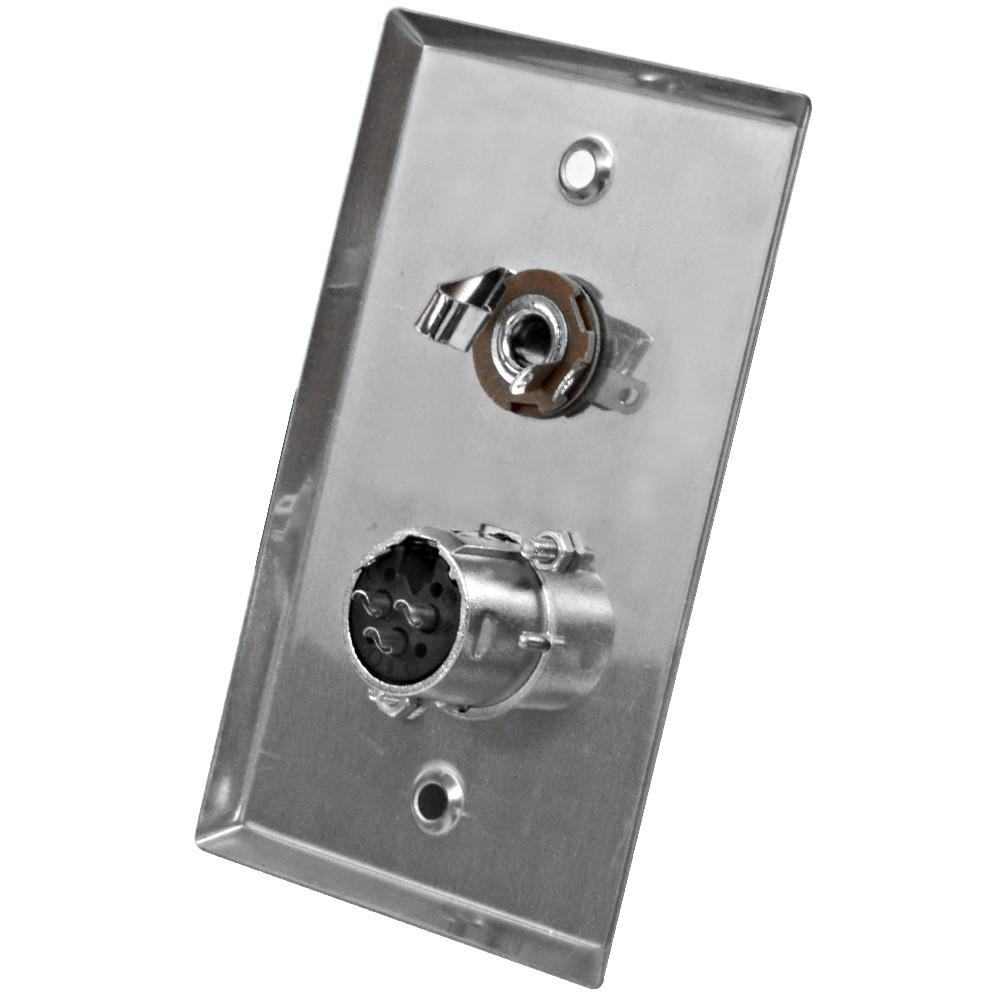 Stainless Steel Wall Plate Wall Plate For Cable