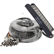 SAEM-32x8x200 - 32 Channel XLR Color Coded Snake Cable - 200 Feet
