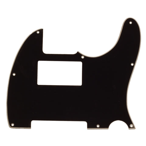 Black Replacement 3 Ply Tele Style Humbucker Pickguard for Standard Tele Electric Guitar