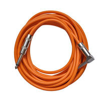 Orange 20 Foot Right Angle to Straight Guitar Cable