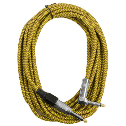 SAGCRCO-18 - 18' Copper Woven Guitar/Instrument Cable