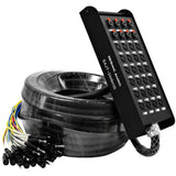 SAJT-24x8x100 - 24 Channel XLR 100' Snake Cable (TRS Returns)