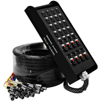 SALS-16x8x50 - 16 Channel 50' Snake Cable (XLR & TRS Returns)