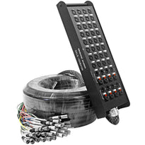 SALS-32x8x100 - 32 Channel 100' Snake Cable (XLR & TRS Returns)