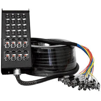 SALS-16x8x150 - 16 Channel 150' Snake Cable (XLR & TRS Returns)