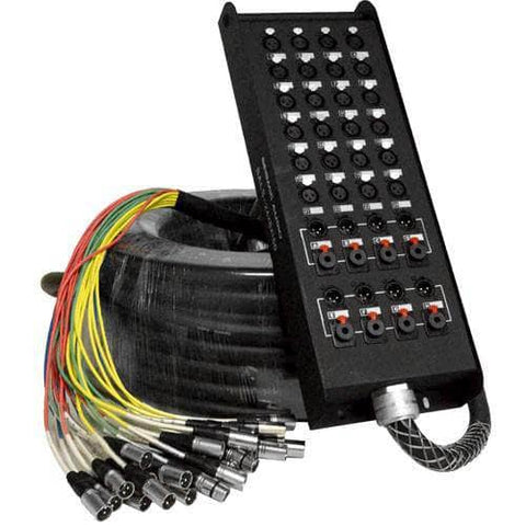 SALS-24x8x150 - 24 Channel 150' Snake Cable (XLR & TRS Returns)