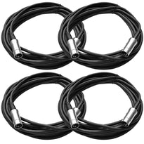SAMIDI20 - 4 Pack of 5 Pin MIDI Cable - 20 Feet
