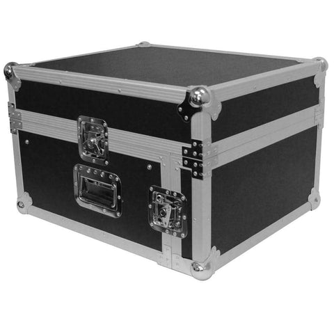4 Space Rack Case with Slant Mixer Top
