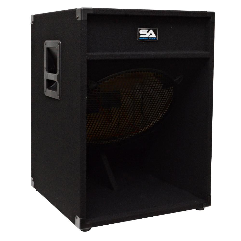 """Wholesale Kitchen Cabinets Pa: 18"""" Empty Subwoofer Bass Cabinet Down Firing"""
