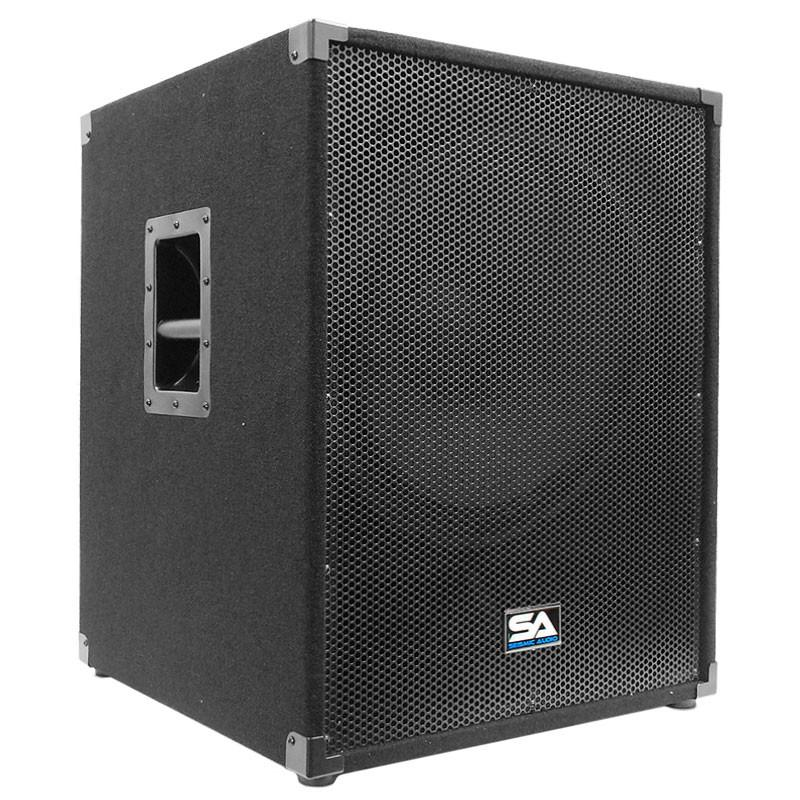 18 Quot Pa Sub Woofer Bass Speaker Cabinet 500 Watts Rms
