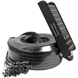 SAPSNS-24-3x10x150 - 24 Channel 150' Snake Cable (Compatible with PreSonus 24.4.2 Digital Mixer)