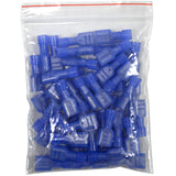 SAPT209 - 50 Pack of Fully Insulated 16/14 Gauge Female Quick Disconnect Wire Connectors