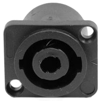 SAPT240 - 4 Pole Speakon Panel Mount Connector