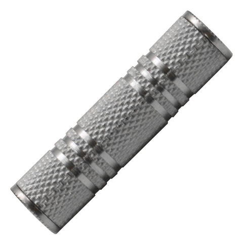 "SAPT125 - 1/8"" Female to 1/8"" Female Coupler (Silver)"