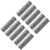 "SAPT125 (10 Pack) - 1/8"" Female to 1/8"" Female Coupler (Silver)"