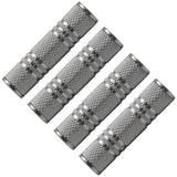 "SAPT125 (4 Pack) - 1/8"" Female to 1/8"" Female Coupler (Silver)"