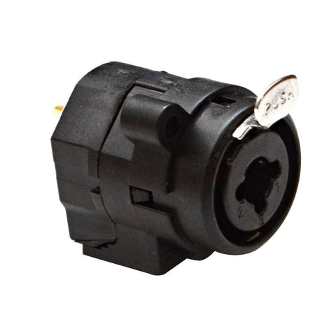 "SAPT50 - XLR 1/4"" Dual Function Panel Mount Connector"