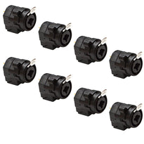 "SAPT50 - XLR 1/4"" Dual Function Panel Mount Connector (8 Pack)"
