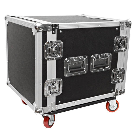 10 Space Rack Case with Casters