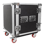 12 Space Rack Case with Casters