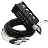 4 Channel XLR Send Sub Snake - 20'