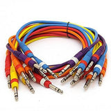 "SASPC3n - 10 Pack 3' TRS 1/4"" Patch Cables"