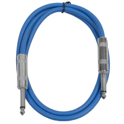SASTSX-3 - Blue 3 Foot TS Patch Cable