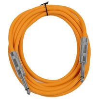 SASTSX-10 - Orange 10 Foot TS Patch Cable