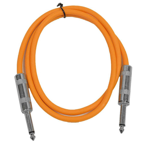 SASTSX-3 - Orange 3 Foot TS Patch Cable