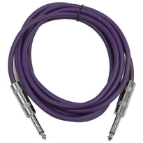 SASTSX-10 - Purple 10 Foot TS Patch Cable
