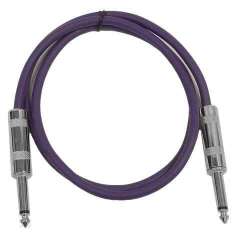 SASTSX-2 - Purple 2 Foot TS Patch Cable