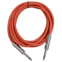 SASTSX-10 - Red 10 Foot TS Patch Cable