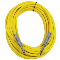 SASTSX-25 - Yellow 25 Foot TS Patch Cable