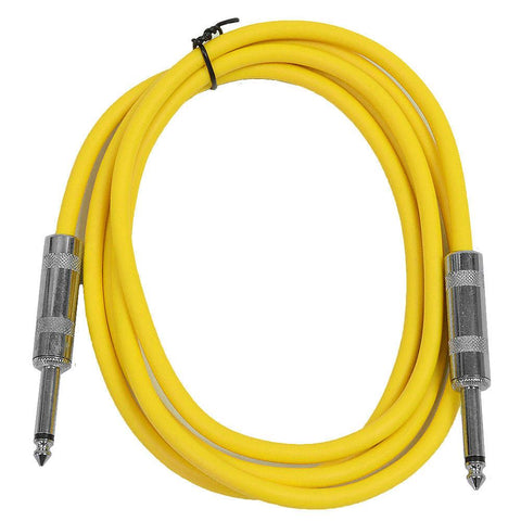 SASTSX-6 - Yellow 6 Foot TS Patch Cable