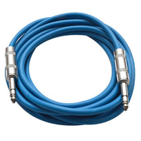 SATRX-10 - Blue 10 Foot TRS Patch Cable