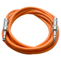 SATRX-10 - Orange 10 Foot TRS Patch Cable