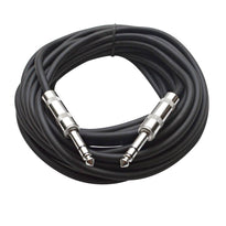 SATRX-25 - Black 25 Foot TRS Patch Cable