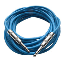 SATRX-25 - Blue 25 Foot TRS Patch Cable