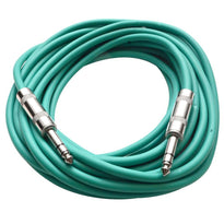 SATRX-25 - Green 25 Foot TRS Patch Cable
