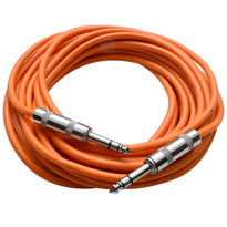 SATRX-25 - Orange 25 Foot TRS Patch Cable