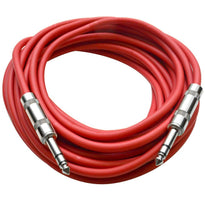 SATRX-25 - Red 25 Foot TRS Patch Cable