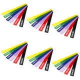 Six Packs of Seismic Audio Colored Velcro Cable Ties - 8 Inches - (6 Packs of 6)