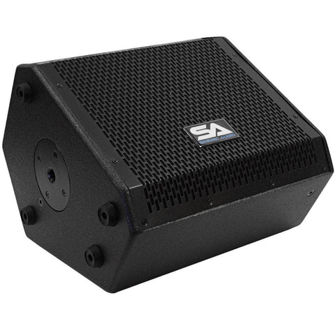 SAX-10M - Compact 10 Inch 2 Way Coaxial Floor / Stage Monitor with Titanium Horn